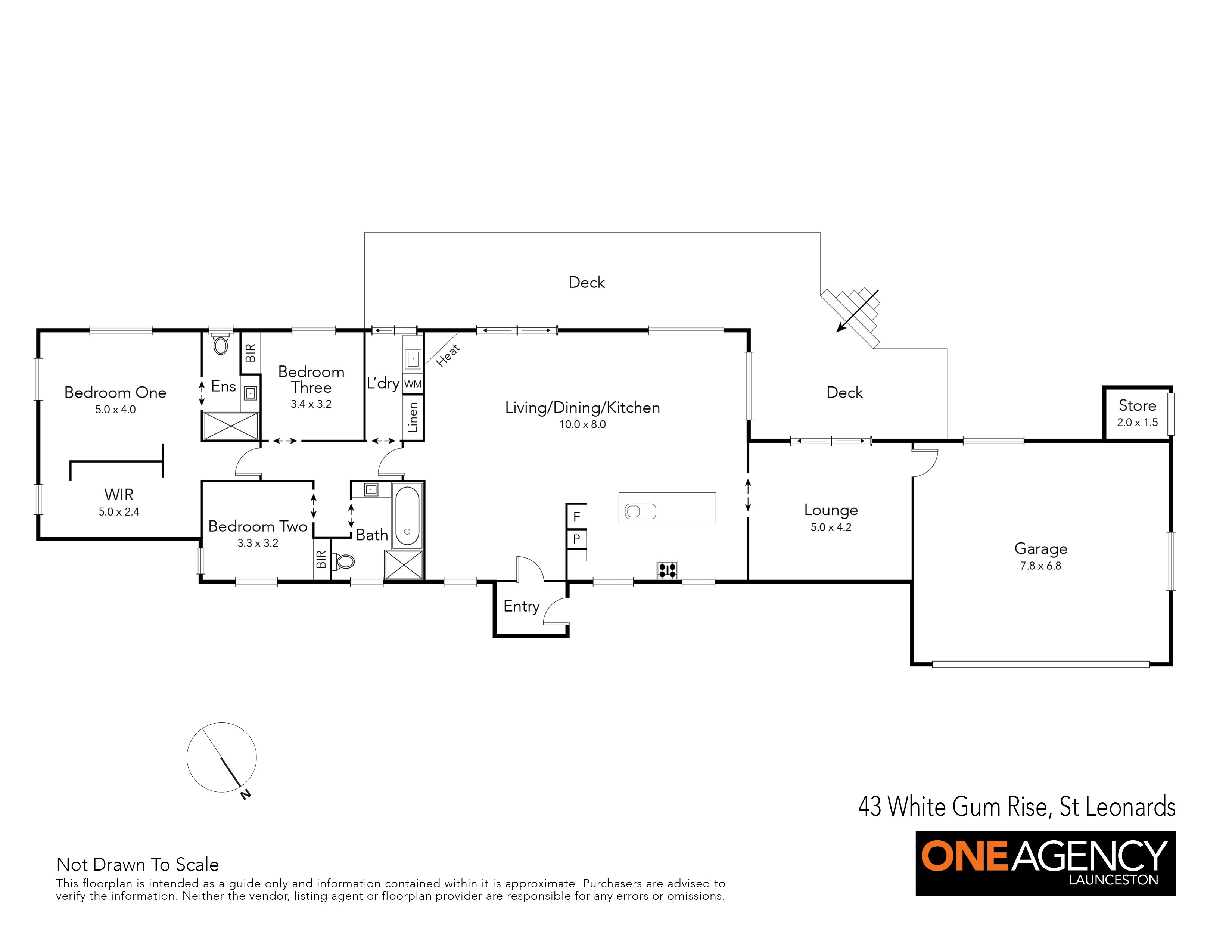 43 White Gum Rise One Agency Launceston